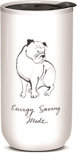 Energy Saving Mode - Ceramic Travel Mug