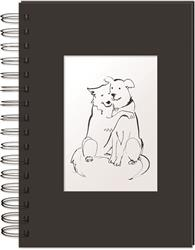 Hugging Dogs - Hardcover Spiral Bound Journal