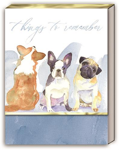 Painted Dogs - Pocket Note Pads - PrePack / Display