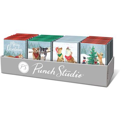 Snow Flurry Dogs - Pocket Note Pads - Holiday PrePack / Display