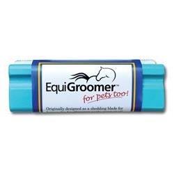 5-Inch Deshedding Tool Turquoise by EquiGroomer
