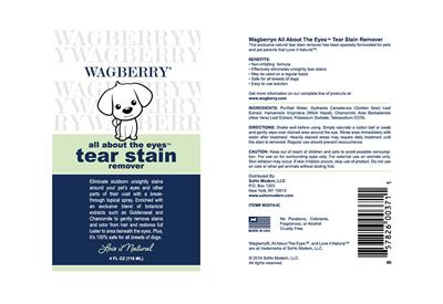 Wagberry All About The Eyes Tear Stain Remover - 4 fl. oz.