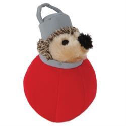 Zoobilee Ornament Holiday Heggie Dog Toy