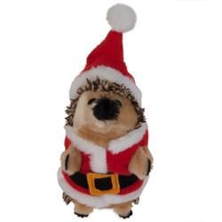 Zoobilee Santa Holiday Heggie Dog Toy