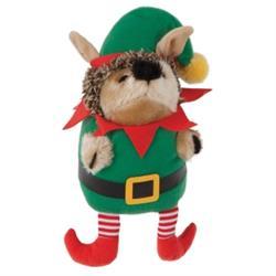 Zoobilee Elf Holiday Heggie Dog Toy