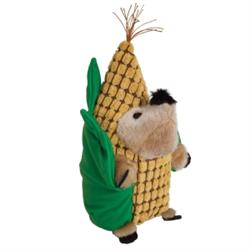 Zoobilee® Corn Heggies Plush Dog Toy