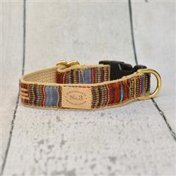 "1"" Autumn Ikat Collars and Leads"