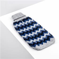 Alpaca Chevron Blue