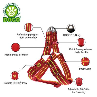 DOCO® Solar Mesh Step in Harness