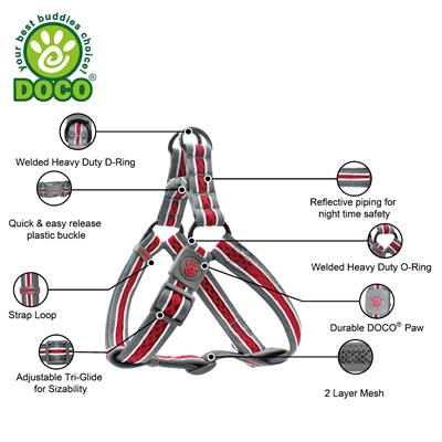 DOCO® Lunar Mesh Step in Harness