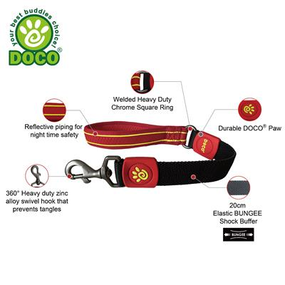 DOCO® Solar Mesh Short Bungee Leash