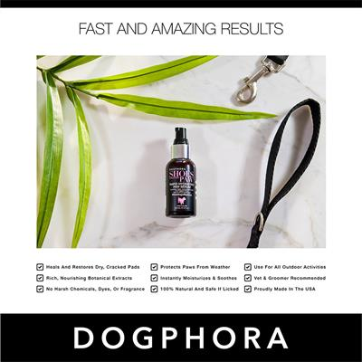 Dogphora Shoes For Every Paw Serum - 2 fl. oz.
