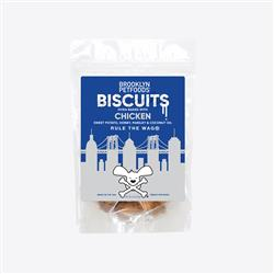 Brooklyn Petfoods Awesome Chicken Biscuits - 6 oz. Bag