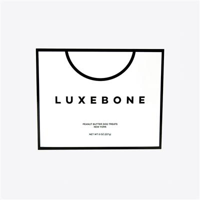 Luxebone Peanut Butter Dog Biscuits - 8 oz. Box