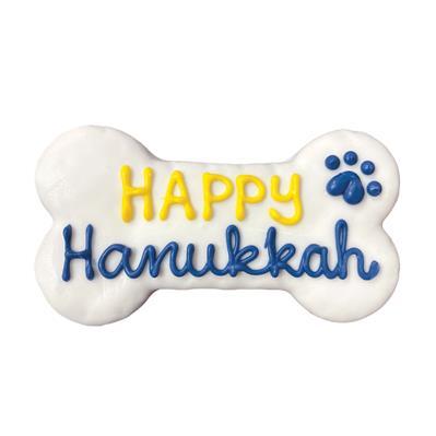"Happy Hanukkah 6"" Bone, 10/Case, MSRP $2.99"
