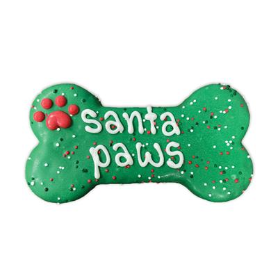"Pre-packaged Santa Paws Naughty List 6"" Bone Card Box, 12/Case, Yappy Howlidays, MSRP $7.99"