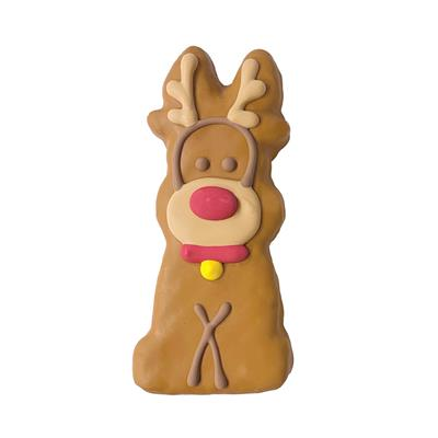 Pre-packaged Tall Reindeer and Snowman Merch., 20/Case, Yappy Howlidays, MSRP $4.99