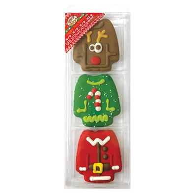 Pre-packaged Ugly Sweaters (3 pkg.), 12/Case, Yappy Howlidays, MSRP $11.49