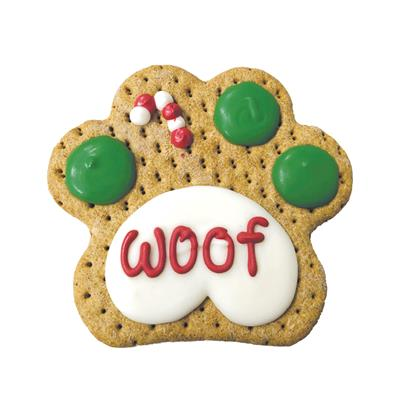 Pre-packaged Woof Paw Merch., 12/Case, Yappy Howlidays, MSRP $5.99