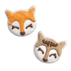 Fox and Deer, 18/Case, Snow Cute, $2.49