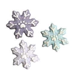 Snowflakes, 18/Case, Snow Cute, $2.49