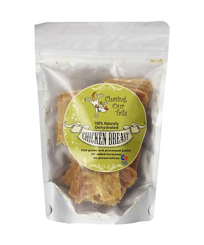 Dehydrated Chicken Breast Dog Treats, 5 oz Bag