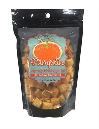 Pumpkin (Single Ingredient) Freeze-Dried Dog Treats - 1.75-oz Bag