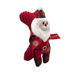 Holiday Tuffins Santa 2 Pack by Charming Pet