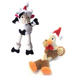 Holiday Just For Me Rooster/Cow 10 pc Clip Strip by goDog