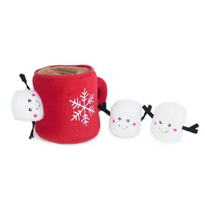 Hot Cocoa Holiday Burrow by Zippy Paws