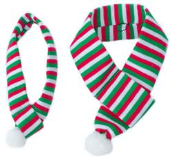 Holiday Stripe Scarf by Zippy Paws