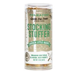 Stocking Stuffer Chicken Little Bits - 2oz Tube Treats by Polkadog