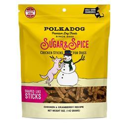 Chicken & Cranberry Sugar & Spice  - 5oz Bag Treats by Polkadog