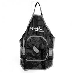 Deluxe Grooming Apron in Black/Gray by Proguard