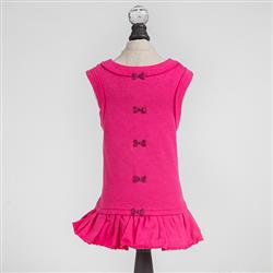 Candy Dog Dress Collection: Fuchsia