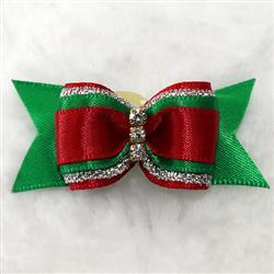 Christmas Dog Hair Bow
