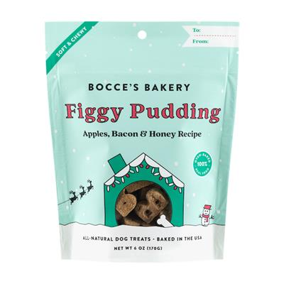 Holiday: Figgy Pudding Soft & Chewy Treats 6 OZ BAGS