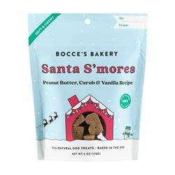 Holiday: Santa S'mores Soft & Chewy Treats 6 OZ BAGS