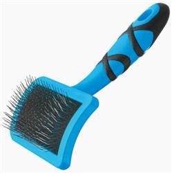 Curved Firm Slicker Brush Medium by Groom Professional