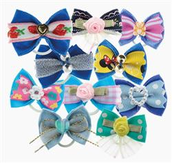 Blue Fashion Bows Pack Of 100 by Groom Professional