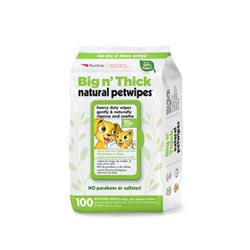 Petkin Big N' Thick Natural Petwipes - 100 count