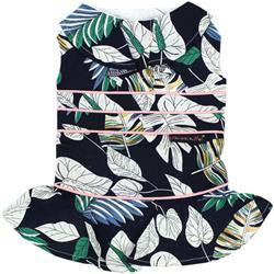 Palm Leaves Dress