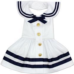 Sailor Dress - White