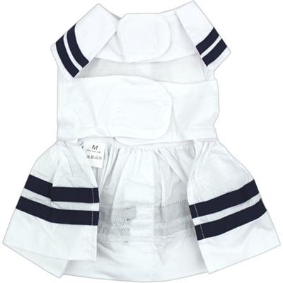 Sailor Dress - White