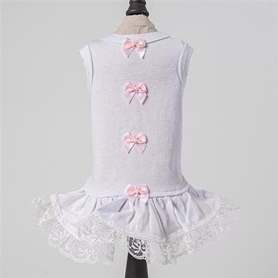 Sweetheart Dog Dress: Pink