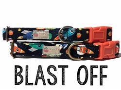 Blast Off – Organic Cotton Collars & Leashes