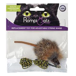 RompiCatz Replacement Mouse - Adjustable String Wand Toys