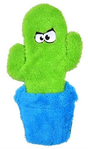 Duraplush Unstuffed Potted Cactus Dog Toy