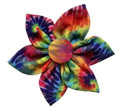 Woodstock Tie Dye Pinwheel by Huxley & Kent