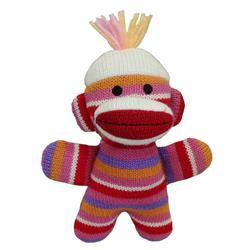 Kitty Baby Sock Monkey by Lulubelles Power Plush